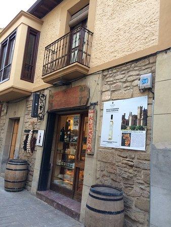 Olite, Spain: Vinoteca Algarra