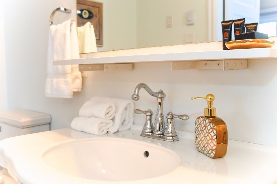 Wakefield, Καναδάς: Luxurious washroom amenities