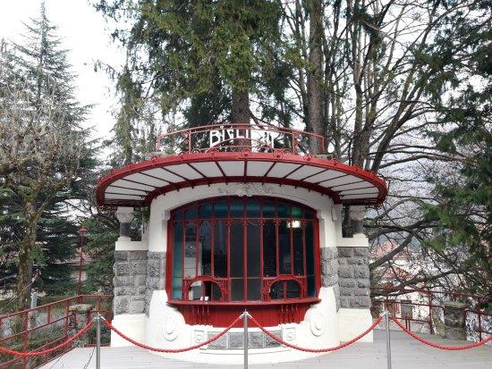 San Pellegrino Terme, Italië: vecchia biglietteria