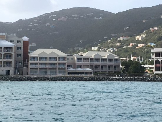 Maria's by the Sea: The Hotel view from the Ferry