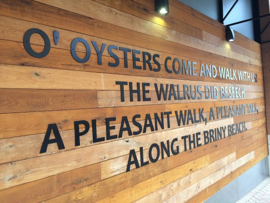 The Walrus Oyster and Ale House: Spring 2017