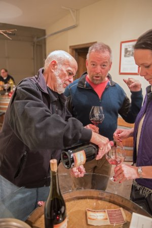 Carlton, OR: Great wines poured daily