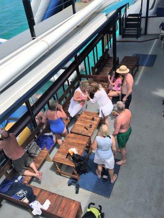 St. John's, Antigua: Lower deck