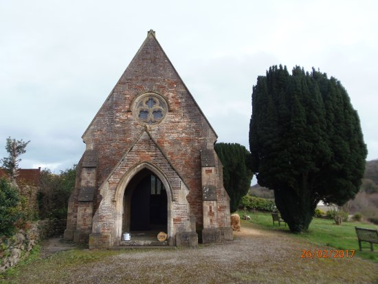 Mendip Hospital Cemetery: Chapel