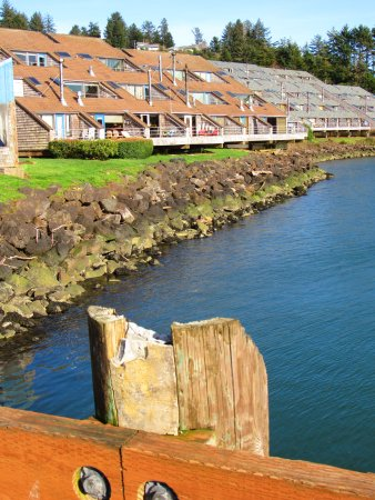 Embarcadero Resort Hotel: View from walkway to the crabbing dock.