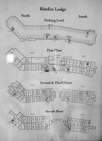 Rimfire Lodge Condos : Condo layout