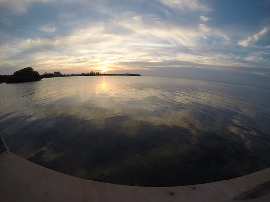 Caye Caulker, Belize: sunset