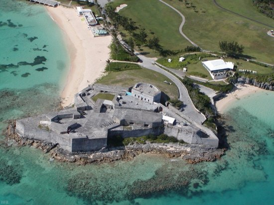 St. George's Parish, Bermuda: Fort St. Catherine and Achilles' Bay