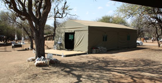 Tented Adventures Pilanesberg Photo & The larger ablution block on the camping site - Picture of Tented ...