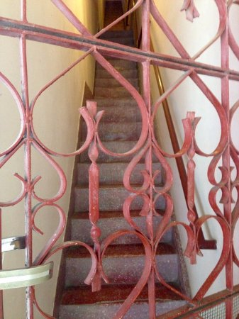 Anise Hotel: Stairway to Annex rooms