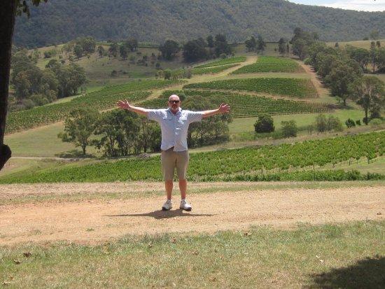 Pokolbin, Australia: Breathtaking views from Mount View Estate