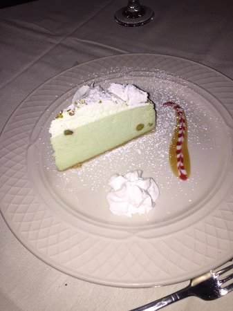 Limoncello: Pistachio cheesecake from Florence - not on their regular menu was on special
