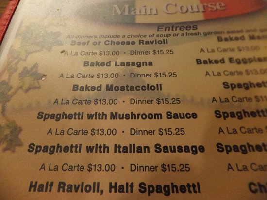 Banning, CA: Items on their menu