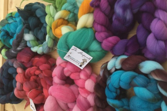 Comfort, TX: Hand Dyed Fiber