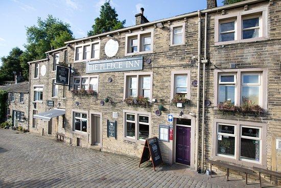The Fleece Inn: Main Street Haworth