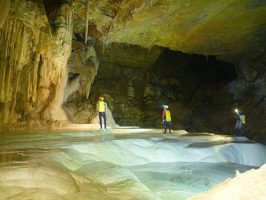 Meaudre, France: Payasage souterrain