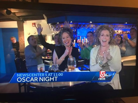 Live tv coverage of our Academy Award Party for the movie Manchester-by-the-Sea.