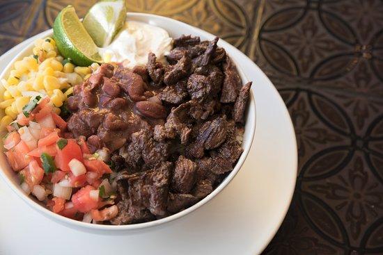 Springfield, VA: Steak Burrito Bowl