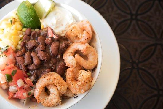 Springfield, VA: Shrimp Burrito Bowl