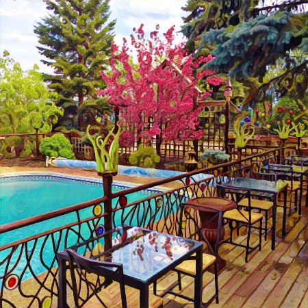 The Firestick Cafe At Solar Gardens