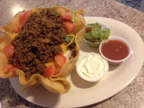 Vinita, Oklahoma: Taco Salad