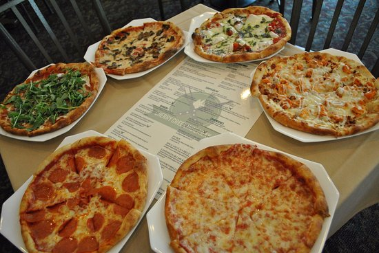 Stroudsburg, Pensylwania: Great Selection of pizzas
