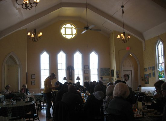 LaGrange, GA: View of interior taken from our table.