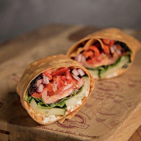 Okemos, MI: Mediterranean Veggie Wrap