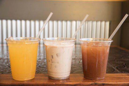 Springfield, VA: Drinks: Chicha Morada, Horchata, Tamarindo