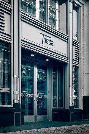 Tosca Restaurant: front
