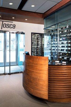 Tosca Restaurant: reception