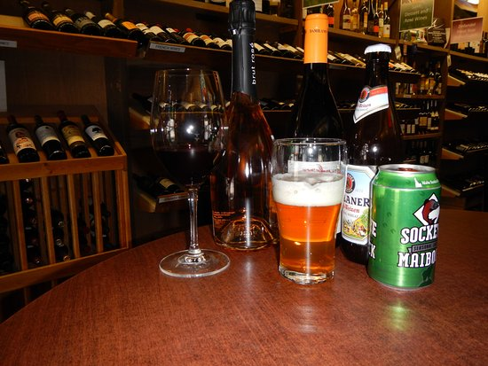 Idaho Falls, ID: Wine and microbrews by the glass or bottle.