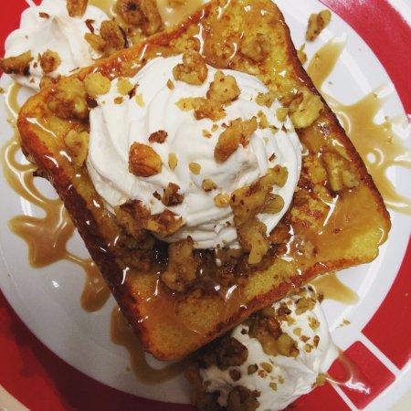 Egg Harbor, WI: Maple Walnut Stuffed French Toast  #getstuffeddoco #frequentfarmer #yum