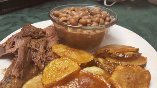 Kingsport, TN: Hamburger Steak, Home fries & Soup Beans