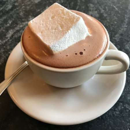 Montclair, NJ: Belgian Hot Chocolate with a house-made marshmallow
