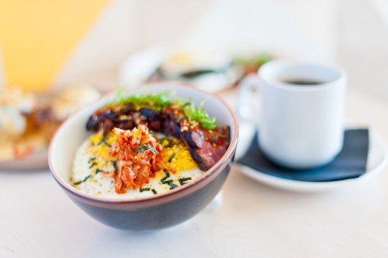 The Peached Tortilla Korean Steak Egg Bowl Caffe Vita Coffee