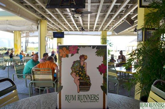 Rum Runners Bar Grille At Sirata Beach Resort Menu