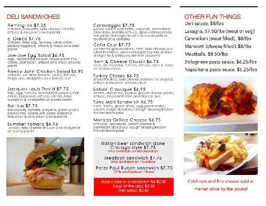 Sydney, Kanada: menu side1
