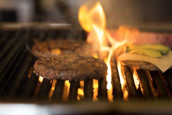 Springdale, AR: Mesquite Wood Grill