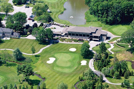 Beautiful Crosswinds Golf Clubhouse directly across the street from ...