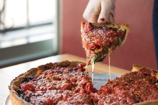 Little Star Pizza: Deep Dish Pizza
