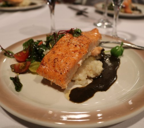 Placerville, Kalifornien: Salmon Dinner
