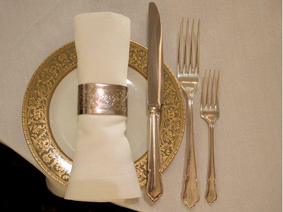 Ratanui Lodge Restaurant: Table Setting