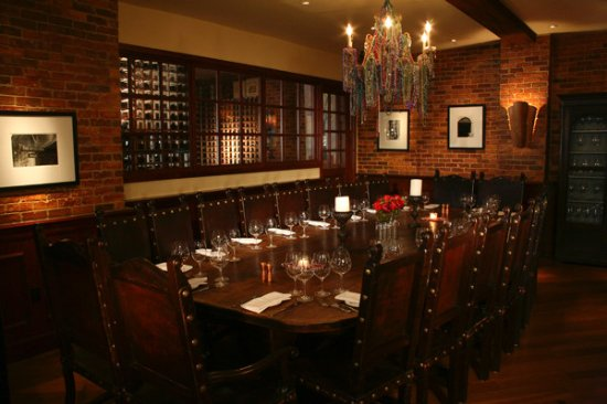 San Mateo, Kalifornien: Several private dining rooms to choose from