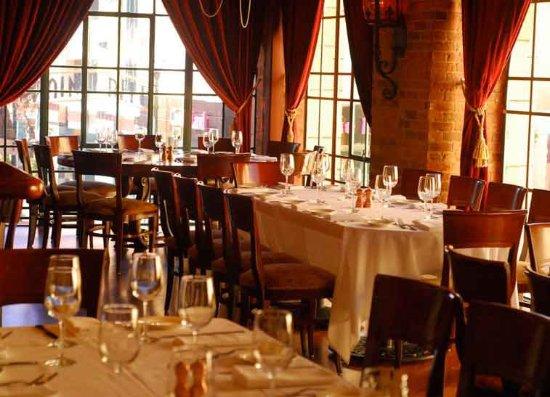 San Mateo, كاليفورنيا: Amazing dining setting