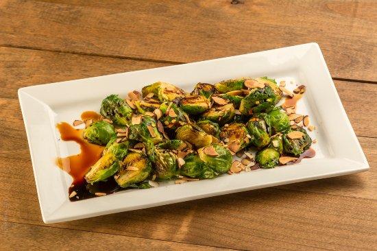 Chico, Californië: Tamari glazed brussel sprouts
