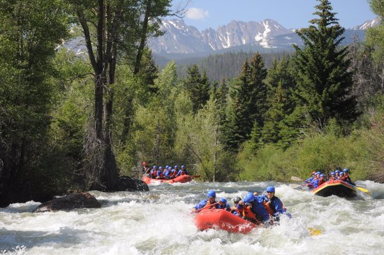 Buena Vista, Κολοράντο: Blue River Rafting near Breckenridge, CO