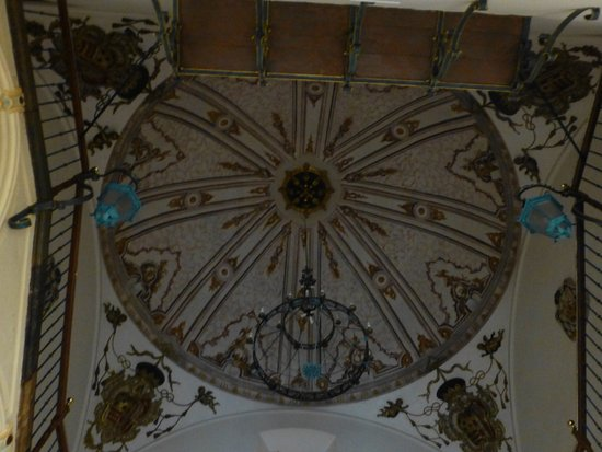 จังหวัดวาเลนเซีย, สเปน: Palacio Episcopal - detalle del techo de la escalera