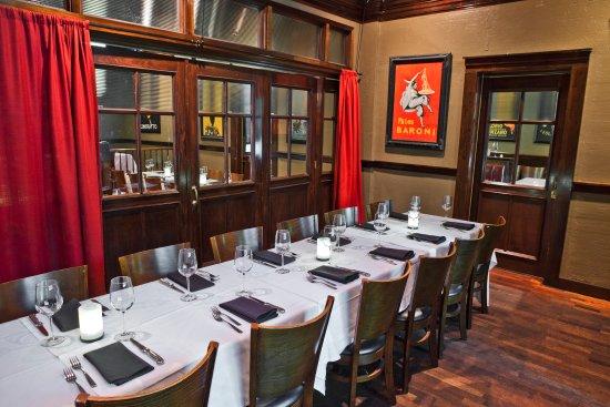 Small Private Dining Room Picture Of Amerigo Italian