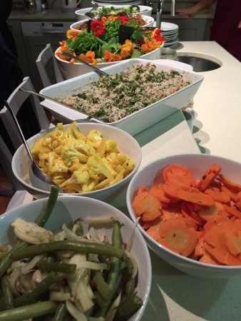 Bantry, Ireland: Selection of salads